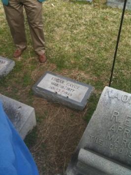 Grave of Edgar Casey Hopkinsville KY