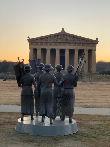 Parthenon Suffragettes Memorial